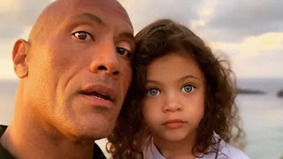 The Rock Dwayne Johnson with COVID 19 Posotive with family