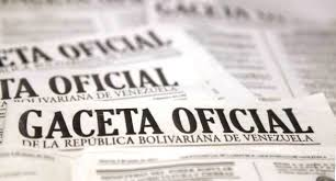 Léase SUMARIO de Gaceta Oficial N° 41.264 de fecha 25 de octubre de 2017