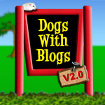 We're a Member of Dogs with Blogs