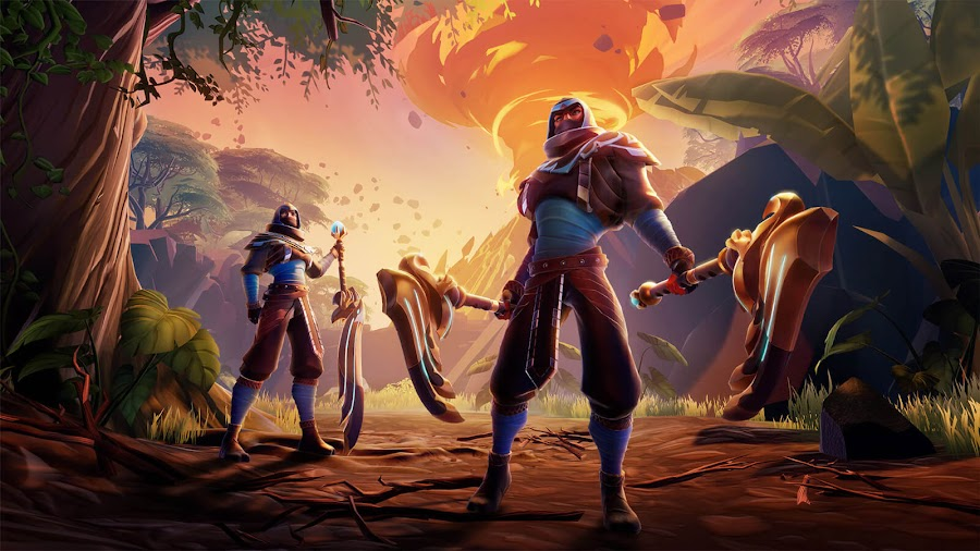 dauntless scorched earth searing talons hunt pass free content update pc epic games store ps4 nintendo switch xbox one free to play phoenix labs
