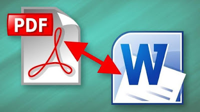 Convertir PDF to Word en ligne