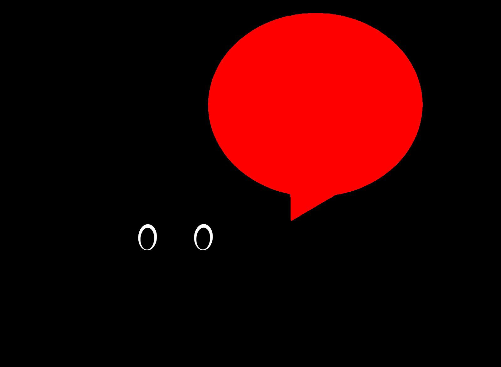 Illustration of corona virus silhouette