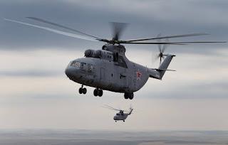 كبار رؤساء روسيا ينشئون مهبط طائرات الهليكوبتر في خليج فنلندا