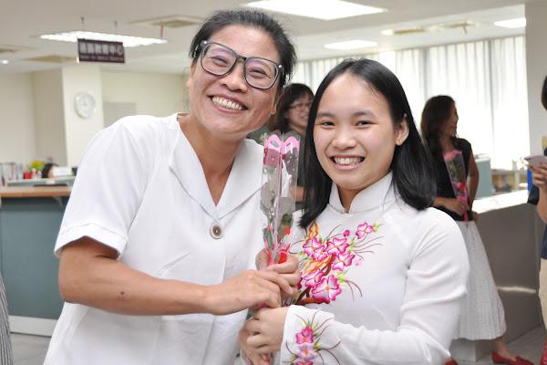 明道大學華語中心辦異國風市集 歡度越南婦女節