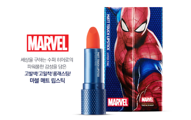 The Face Shop X Marvel Matt Touch Lipstick