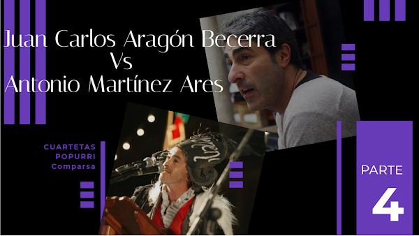 Juan Carlos Aragón Vs Antonio Martinez Ares. Duelo de Popurris con Letra Parte 4