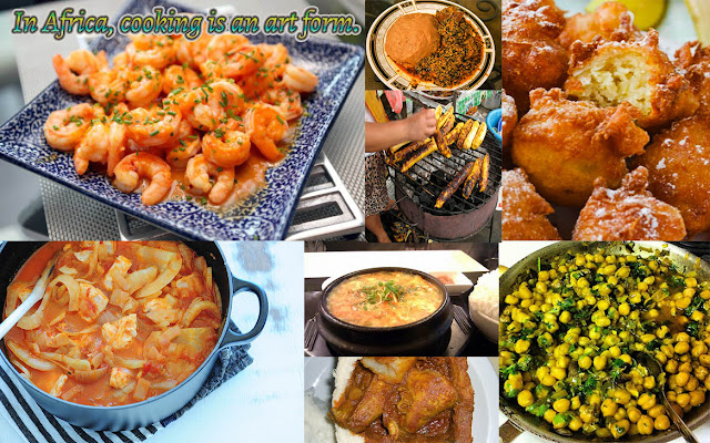 African Food Network, In Africa cooking is an art form