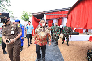 Panen Ikan dan Penebaran Benih Ikan Secara Serentak Bersama Kapolri dan Panglima TNI - Tarakan Info