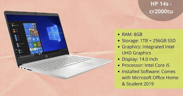 HP laptop under 60000