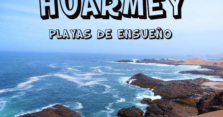 LAS PLAYAS DE HUARMEY: TUQUILLO Y POSITAS