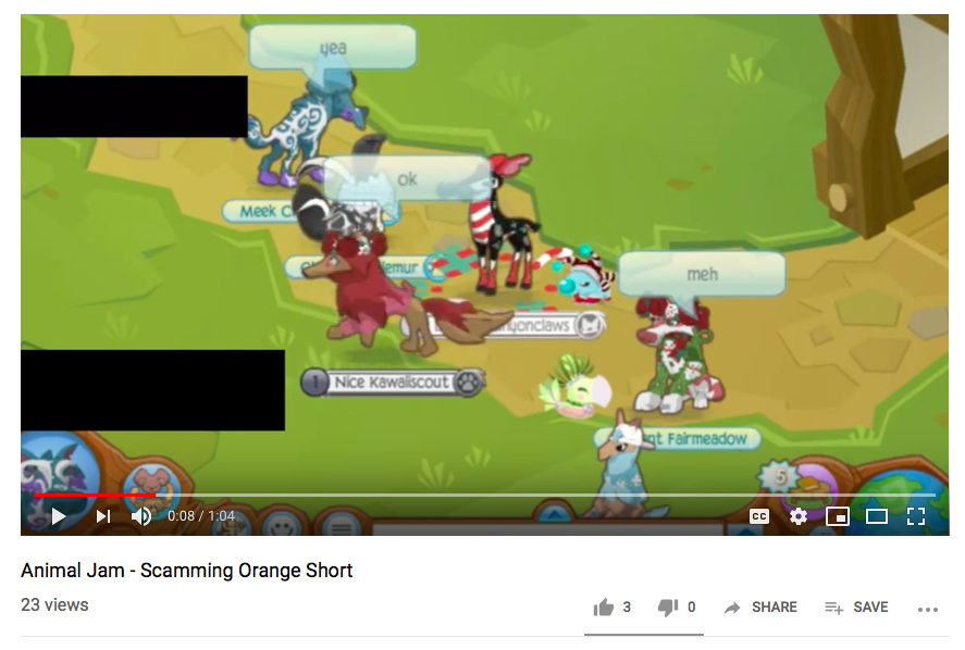 Animal Jam: Special Agents Stopping Scammers: 2019