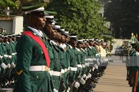 127 Military Officers retire