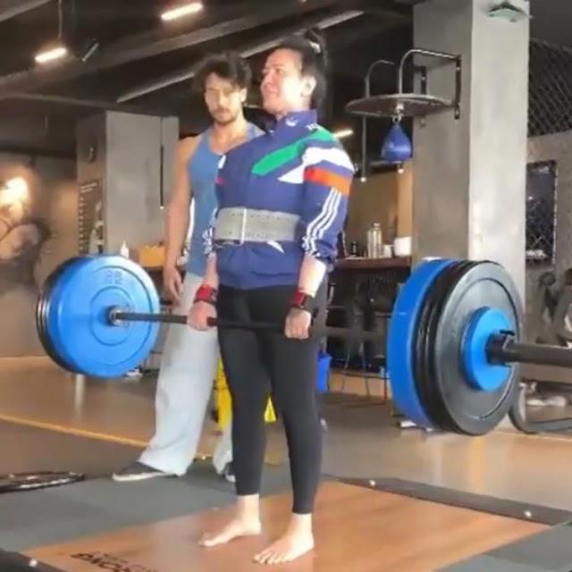 Tiger Shroff's mother Ayesha lifts 95 kg weights, 'good friend' Disha Patani calls it 'insane' - Watch