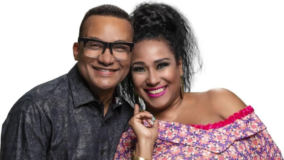 Gonzalo Rubalcada y Aymée Nuviola.