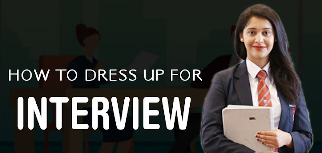 How to dress up for a job interview