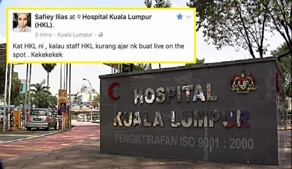 """Belum Apa-Apa Dah Ada Niat Nak Kondem HKL"", Jururawat Tegur Sikap Brosis Safiey Ilias"