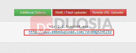 Cara Upload di Embedupload