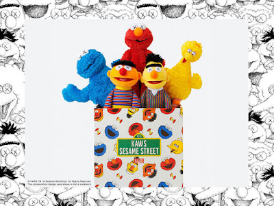 KAWS Sesame Street Plush Collection by UNIQLO
