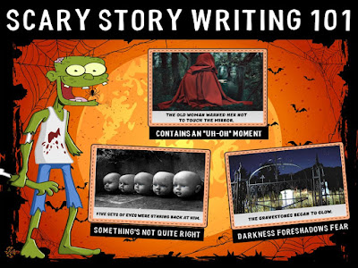 ela seminar gal how to write a scary story that readers will love how to write a scary story that readers will love get em moving then get em writing