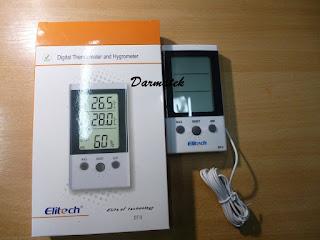 Darmatek Jual Elitech DT3 ThermoHygrometer Indoor-Outdoor