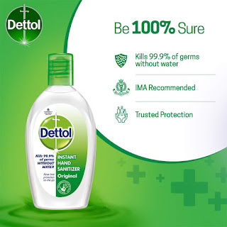 dettol hand sanitizer alcohol