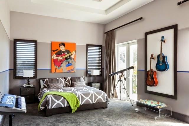 Fotos de habitaciones para solteros ideas para decorar dormitorios - Decoracion habitacion juvenil masculina ...