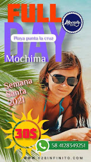 Imagen Full Day Mochima semana santa 2021