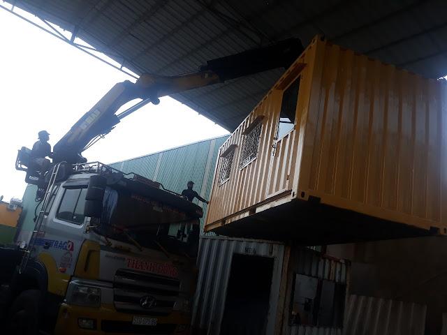 Cho Thuê Container Tại Vinhomes Quận 9