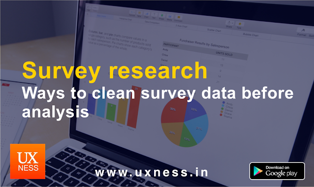 Survey research data cleaning