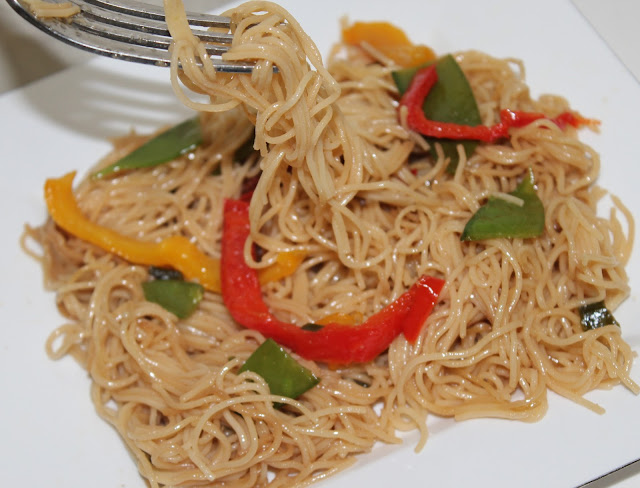 Angel Hair Pasta Salad