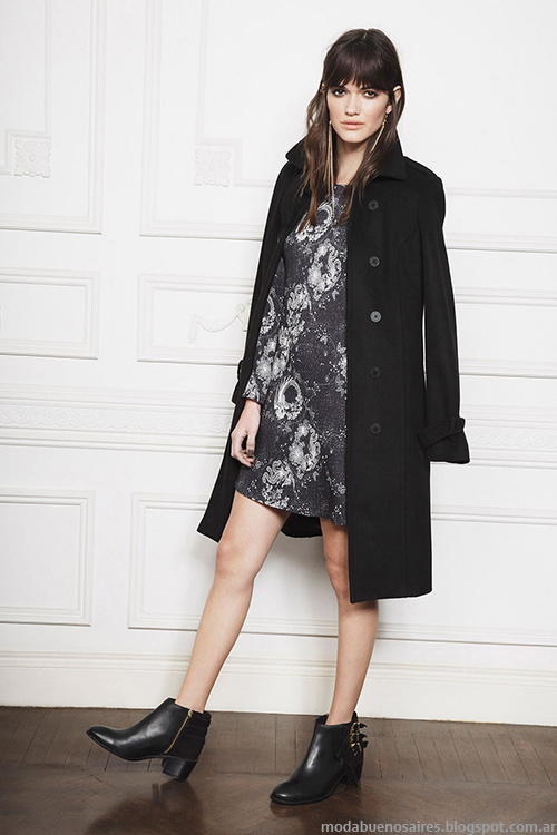Tapados invierno 2016 Ayres moda mujer.