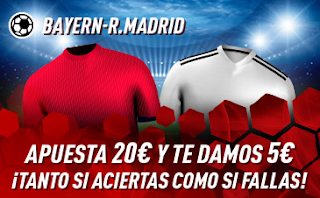 sportium Promo Bayern vs Real Madrid 21 julio 2019