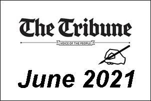 English Tribune Dictation & Outlines June 2021