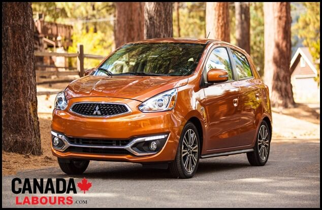 Mitsubishi Mirage, Most affordable cars in Canada