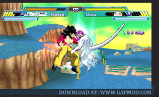 Download Dragon Ball Z Shin Budokai Another Road PPSSPP