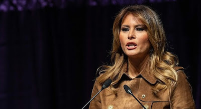 Melania Trump booed by high and middle school students at opioid summit, Baltimore
