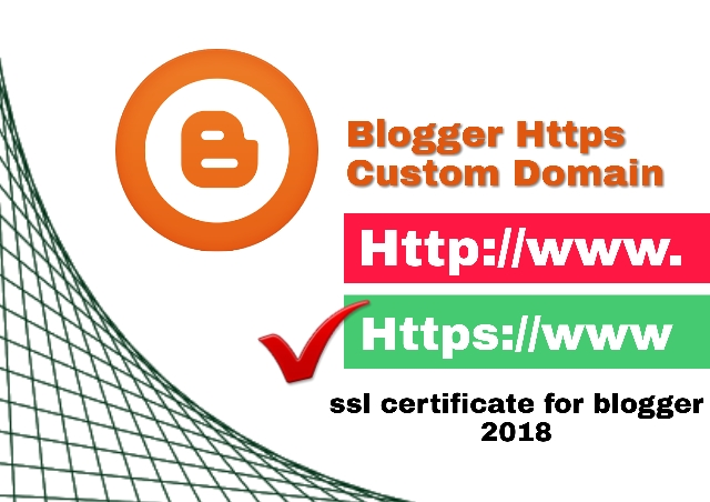 Blogger Custom Domain Me Https Kaise On Kare