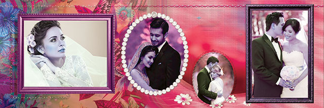 Wedding Photo Album Design PSD File For Photoshop Download