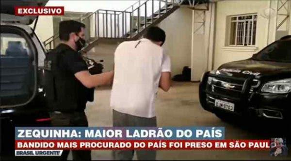 Preso, maior ladrão de banco do Brasil era pastor evangélico