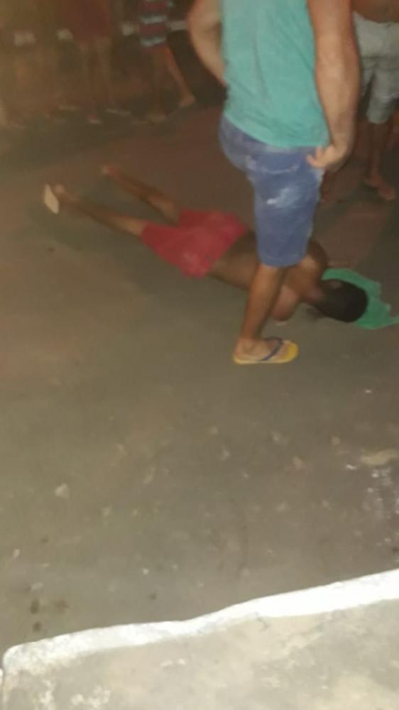 Criminoso é capturado por populares após invadir residencia em São Pedro-PI