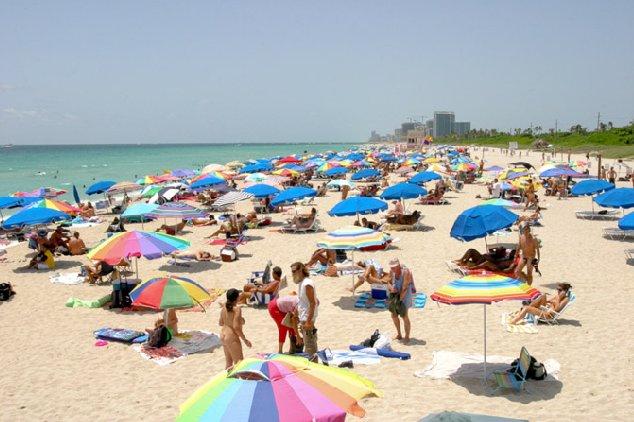 Haulover Beach em Miami para o público gay