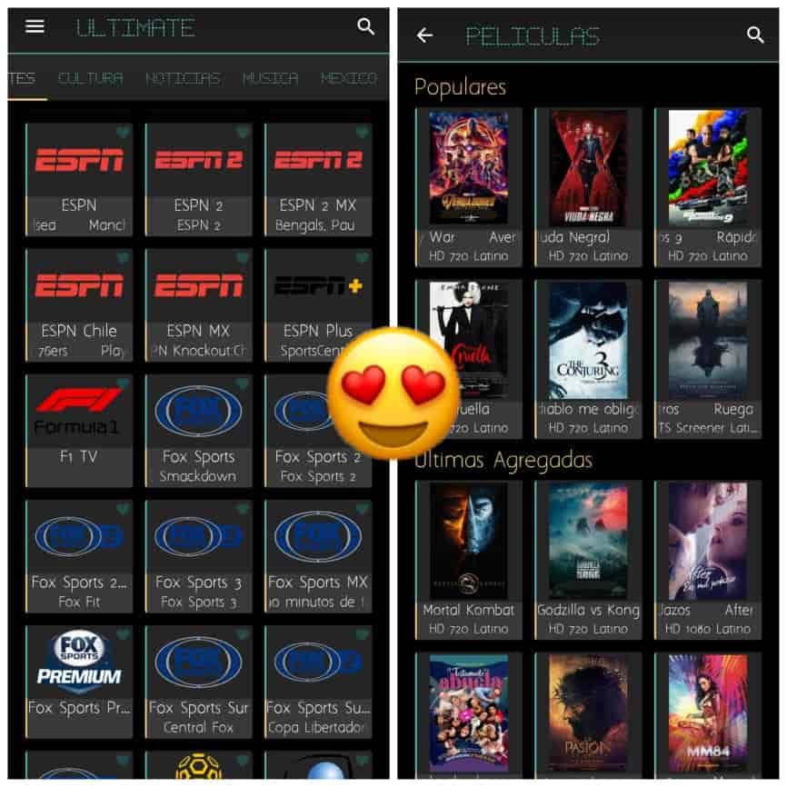 Ultimate Tv Es La MEJOR Aplicación De TV ONLINE GRATIS Para Teléfonos Inteligentes 2021