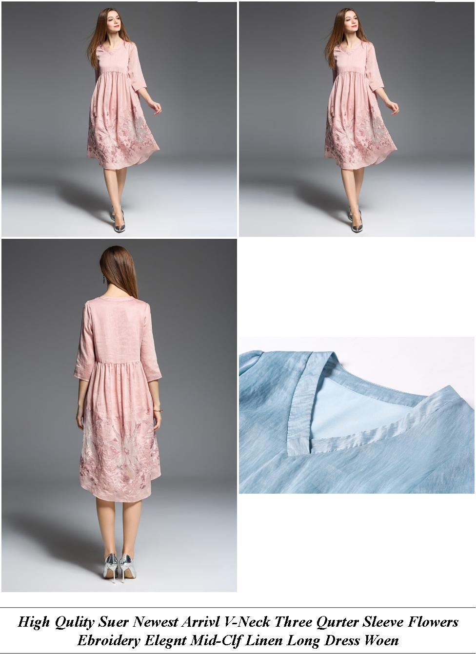 Summer Dresses Uk Cheap - Easter Sale Usa - Royal Lue And White Wedding Gowns