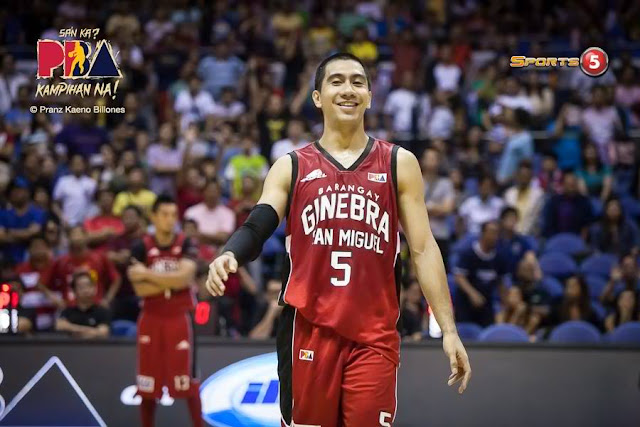 Top 5 Leading scorers for Brgy. Ginebra San Miguel elimination round 2018 PBA PhilCup