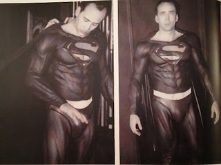 Tim Burton Superman Lives Nicolas Cage costume