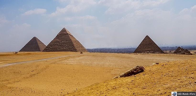 Pirâmides do Egito - Primeira vez na Europa e na África