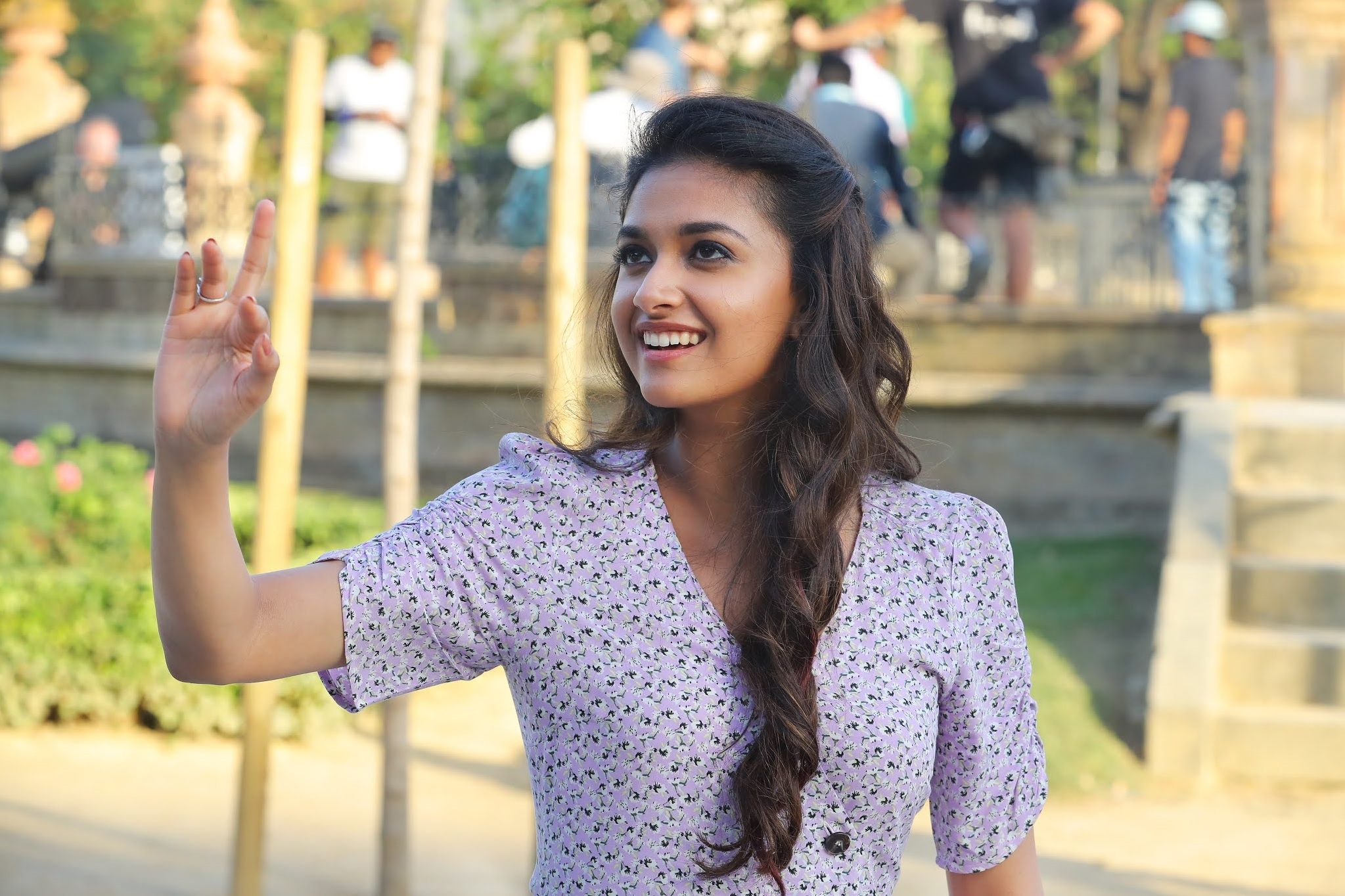 Keerthy Suresh Awesome Pretty Looks New HD Stills from Miss India 6