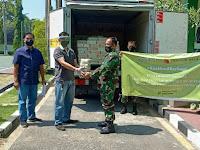 Bersama Mendukung Penanganan Covid-19, Kodim Bojonegoro Dapat Suplemen