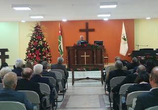 رعاة كنائس انجيلية يجتمعون في عمان