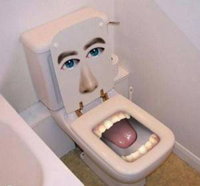 Hình ảnh vui về Toilet